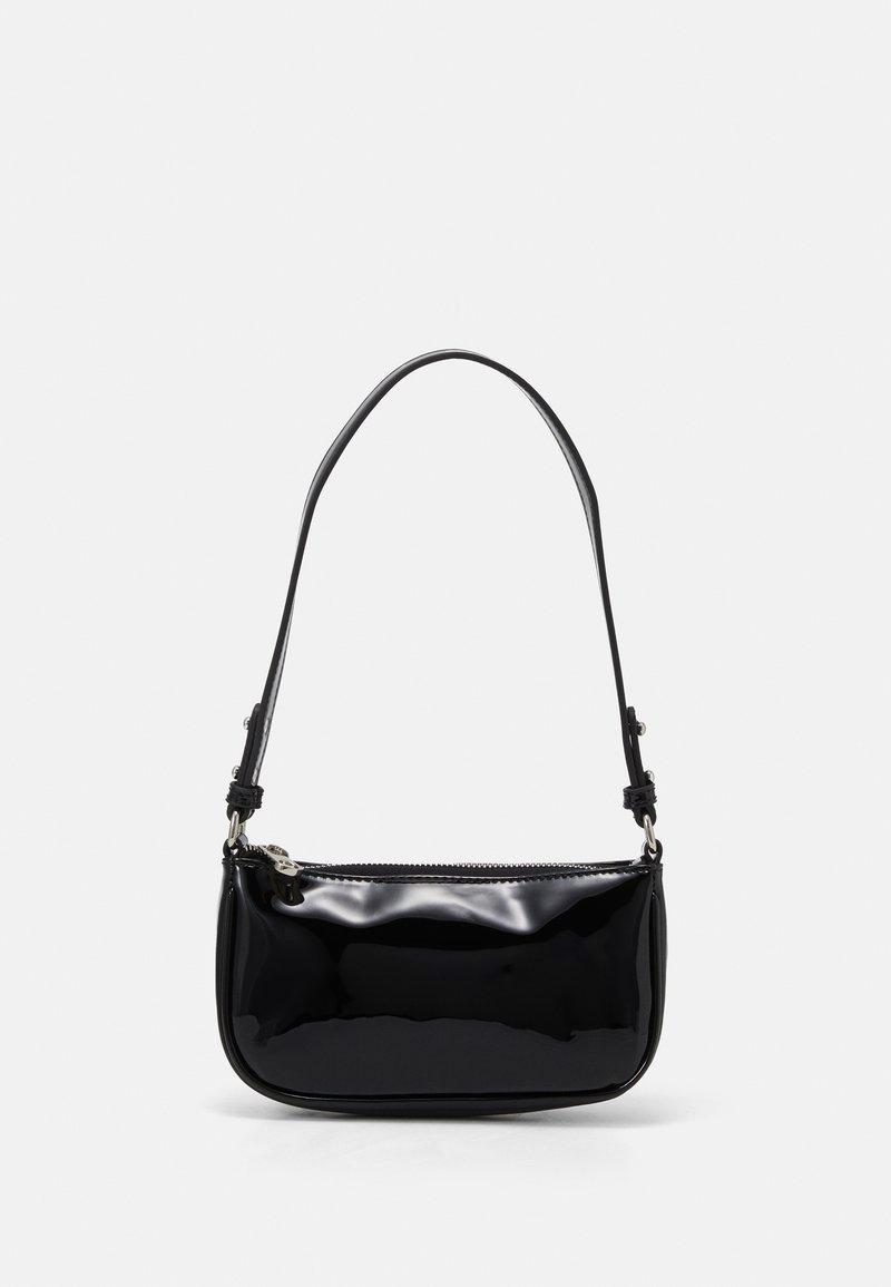 Becksöndergaard - PATENT MONI BAG - Handbag - black