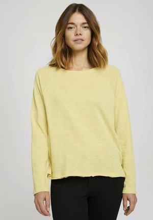 Longsleeve - soft yellow