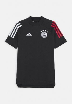 FC BAYERN MUENCHEN FOOTBALL SHORT SLEEVE - Klubbkläder - black/true red