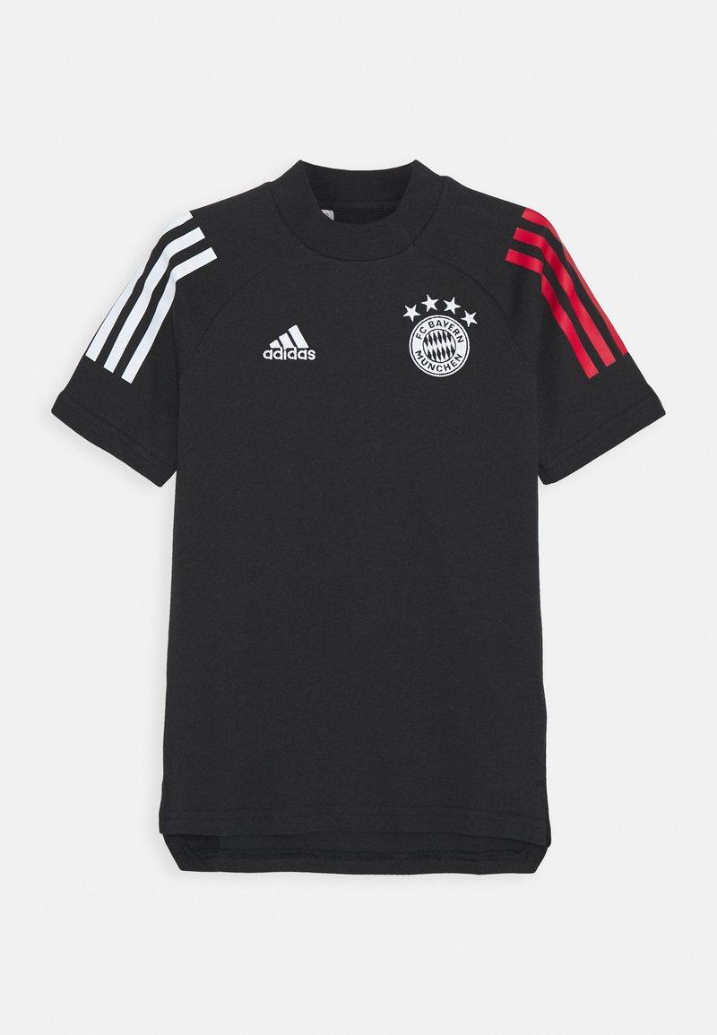 adidas Performance - FC BAYERN MUENCHEN FOOTBALL SHORT SLEEVE - Club wear - black/true red