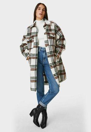 ARCHIVE - Classic coat - white / black / brown
