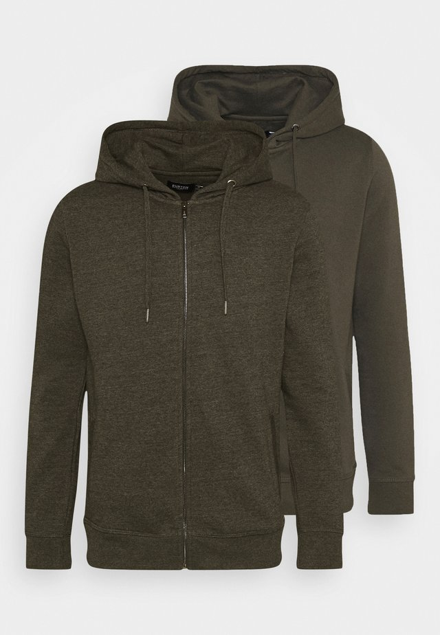 2PK HOOD - Mikina na zip - dark grey