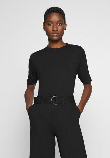 KUMI - Basic T-shirt - black