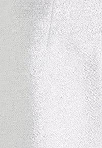 Monki - LUCY SKIRT - Mini skirt - silver - 6