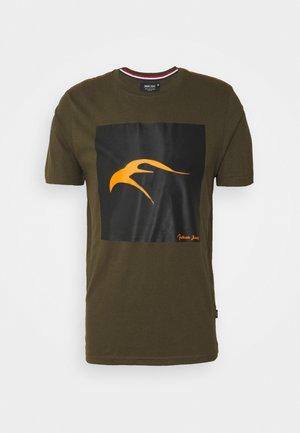 EAVEY - T-Shirt print - dark olive