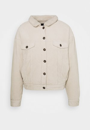 SHEARLING TRUCKER - Light jacket - beige