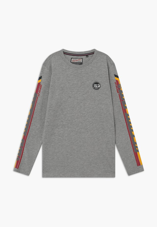 Langarmshirt - light grey