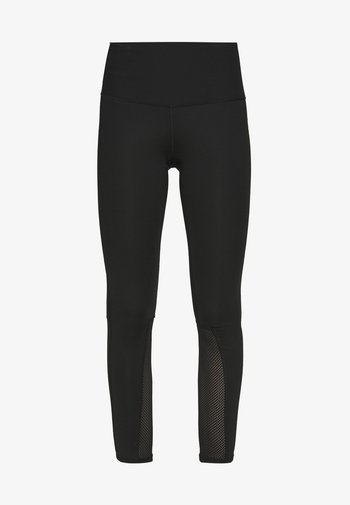 ACTIVE TRAIL MESH HIGH RISE TIGHT - Leggings - black