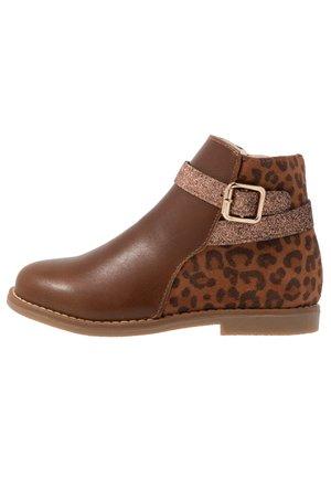 Korte laarzen - brown
