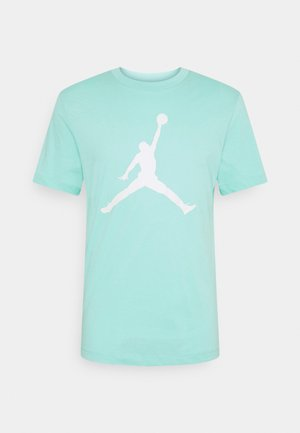 JUMPMAN CREW - Print T-shirt - tropical twist/barely green