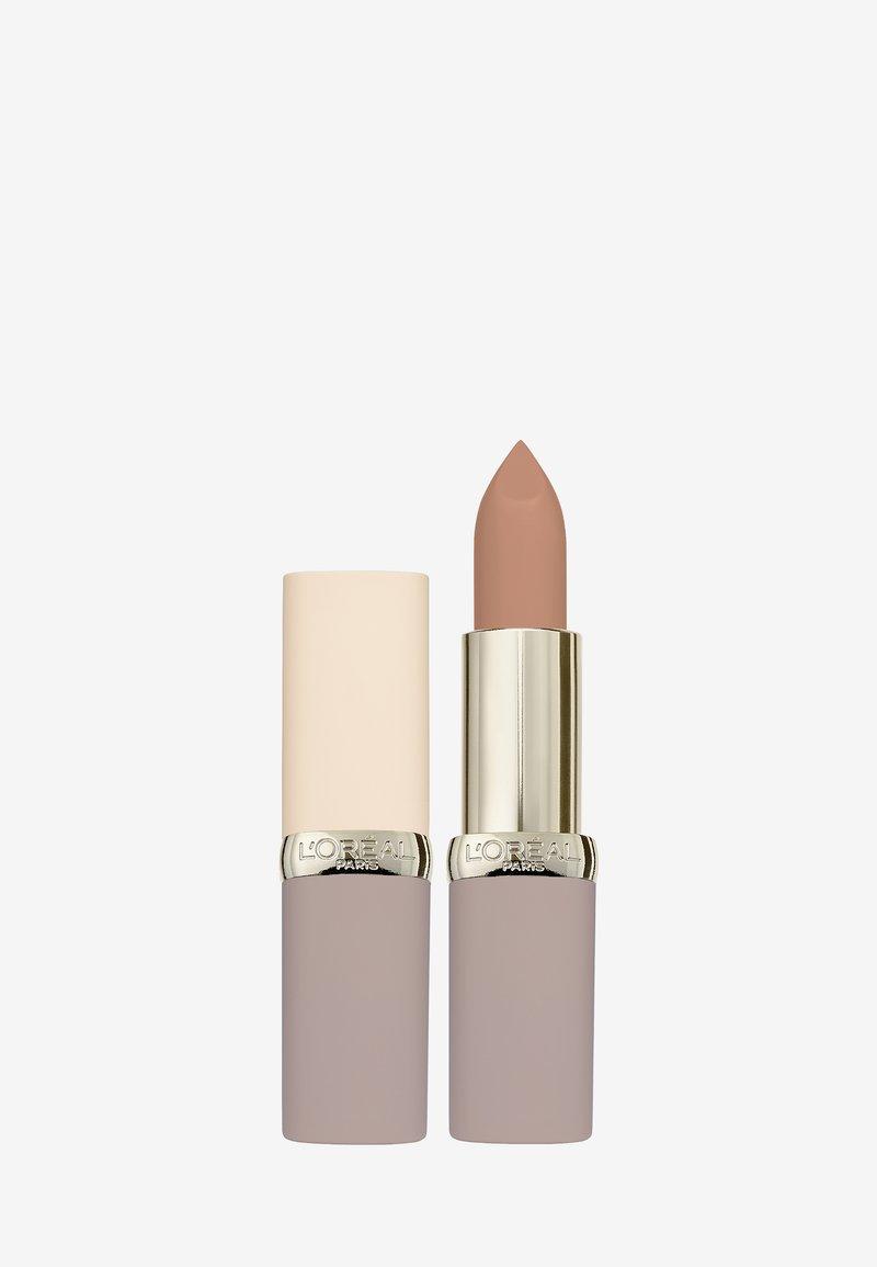 L'Oréal Paris - COLOR RICHE ULTRA MATTE FREE THE NUDES - Rouge à lèvres - 01 no obstacles