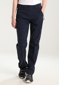 Jack Wolfskin - ACTIVATE LIGHT PANTS WOMEN - Broek - midnight blue - 0