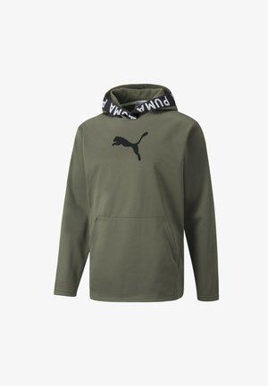 TRAIN - Zip-up sweatshirt - grape leaf