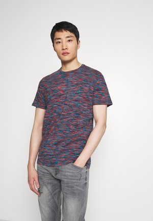 SPACE DYE  - T-Shirt print - red