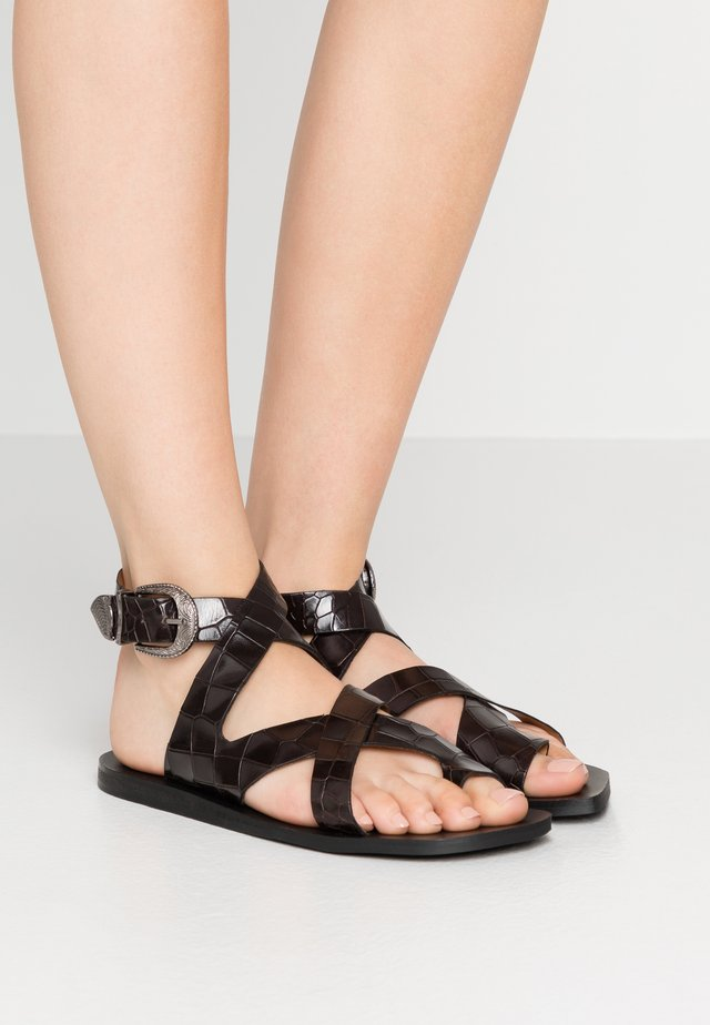 MIA - T-bar sandals - black