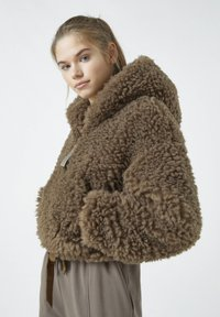 PULL&BEAR - Winter jacket - mottled brown - 3