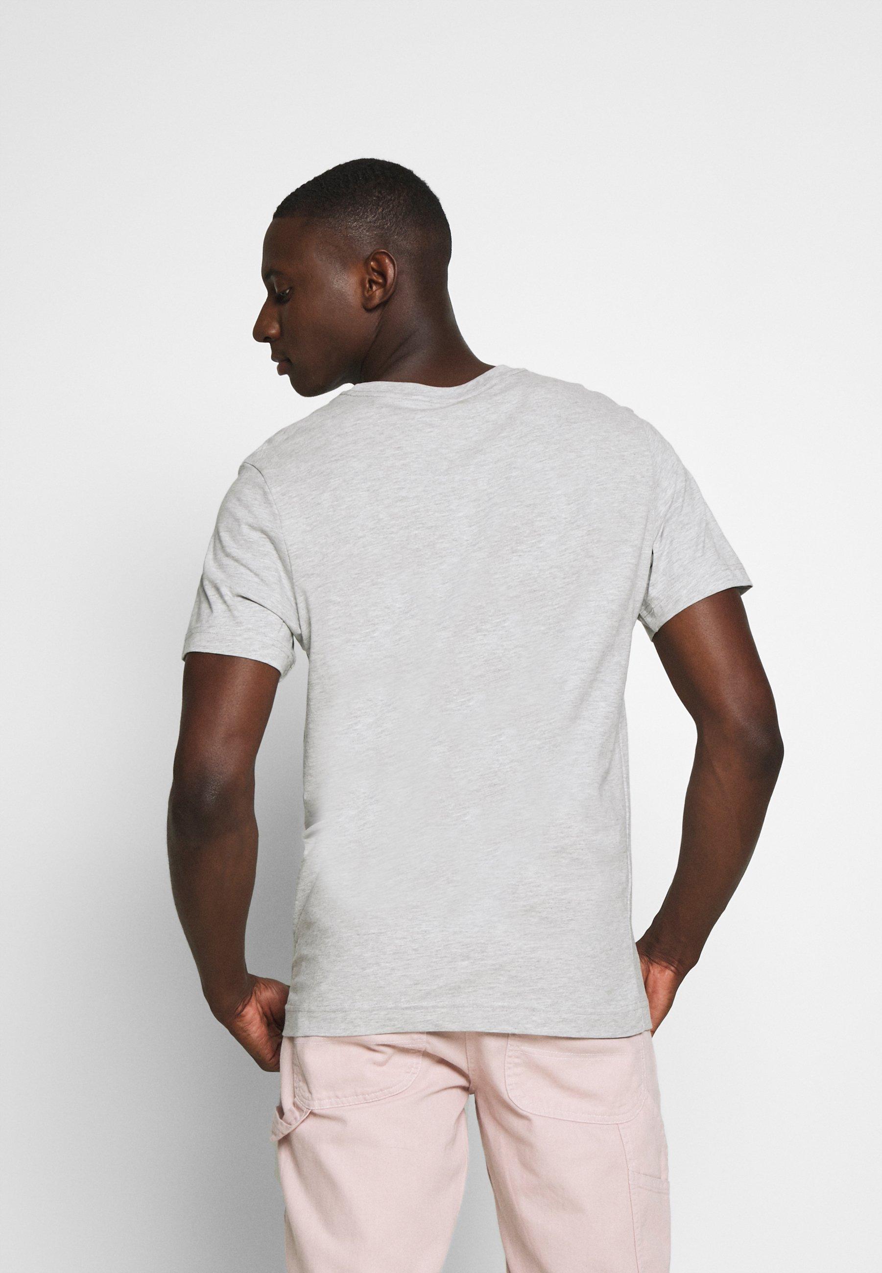 Weekday Basic T-shirt - grey melange wCWvL