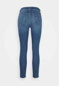 Mother - LOOKER ANKLE FRAY - Jeans Skinny Fit - blue denim - 7