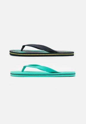 2 PACK - Boty do bazénu - dark blue/green