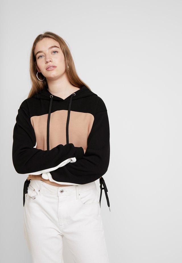 TENYA HOODIE - Sweatshirt - tan