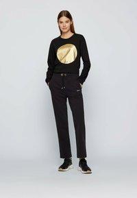 BOSS - C_ELSA - Long sleeved top - black - 0