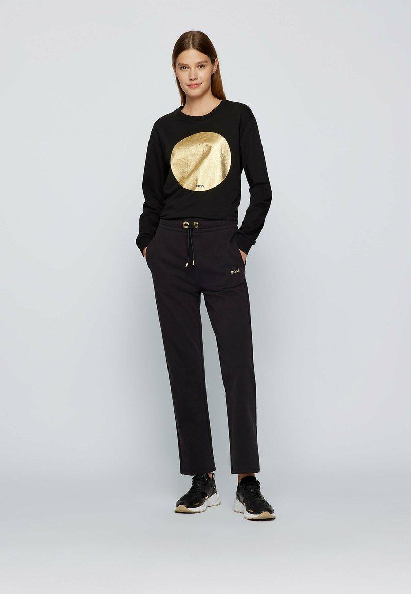 BOSS - C_ELSA - Long sleeved top - black