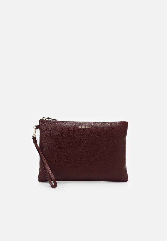 NEW BEST SOFT  - Clutch - marsala