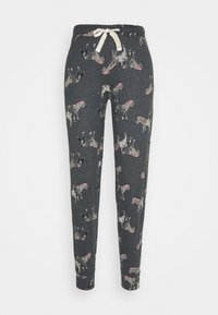 Marks & Spencer London - ZEBRA PANT - Pyjama bottoms - charcoal - 0