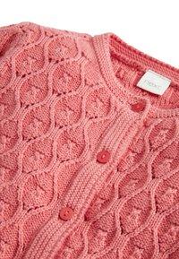 Next - CORAL KNIT CARDIGAN (3MTHS-7YRS) - Cardigan - pink - 2