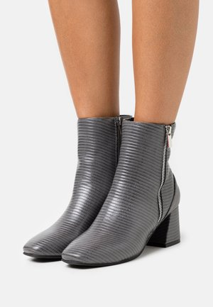 BILLION - Classic ankle boots - grey