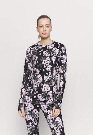 CREW NECK - Undershirt - true black