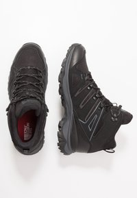 The North Face - M HEDGEHOG FASTPACK II MID WP (EU) - Hiking shoes - black - 1