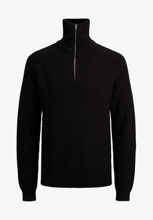HALBREISSVERSCHLUSS - Jersey de punto - black