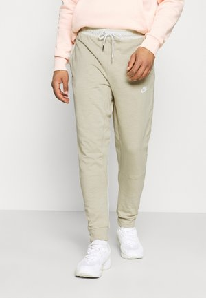 Tracksuit bottoms - grain/coconut milk/ice silver/white
