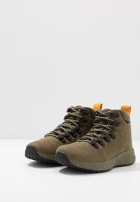 Native - APEX  - Lace-up ankle boots - utili green - 2