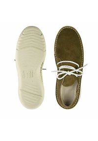 Clarks - Sneakers laag - olive suede - 3