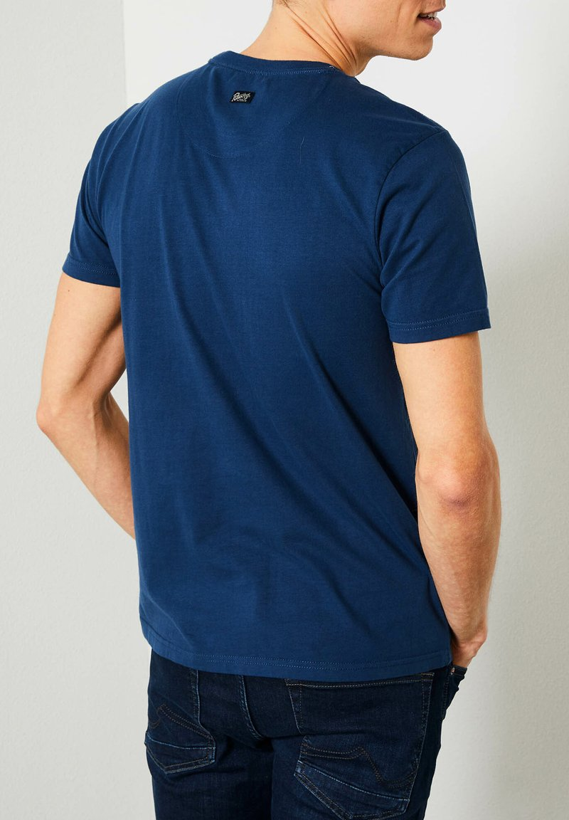 Petrol Industries - T-shirt imprimé - petrol blue