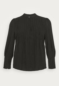 Selected Femme Curve - SLFVIA TOP  - Blouse - black - 4
