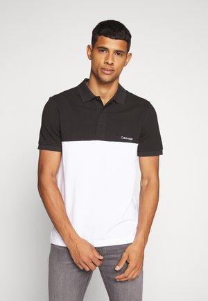 BLOCK LOGO  - Poloshirt - black