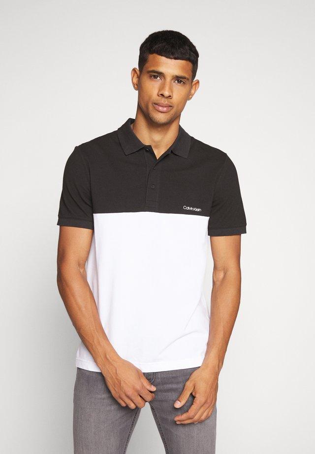 BLOCK LOGO  - Polo shirt - black
