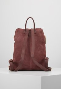 mint&berry - LEATHER - Rucksack - dusty rose - 2