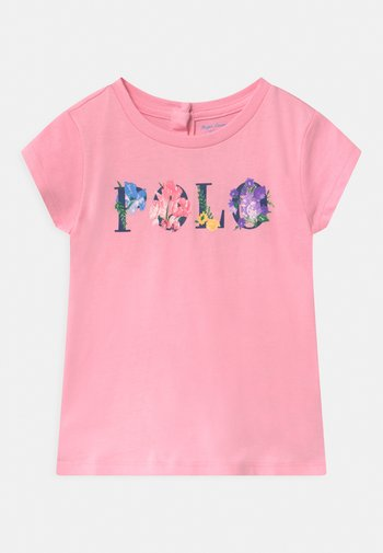 GRAPHIC - Print T-shirt - carmel pink
