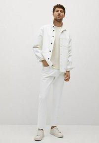 Mango - Giacca di jeans - blanco - 1
