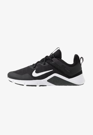 LEGEND ESSENTIAL - Sports shoes - black/white/dark smoke grey
