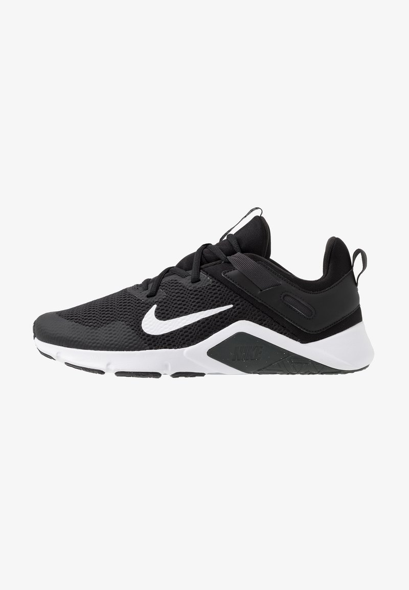 Nike Performance - LEGEND ESSENTIAL - Sports shoes - black/white/dark smoke grey