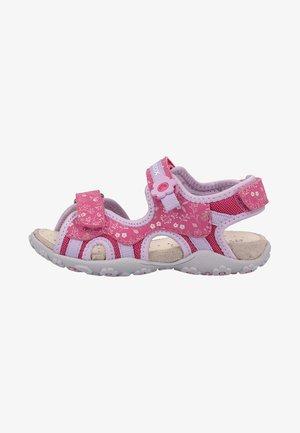 Sandals - fuchsia