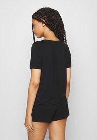 Anna Field - Basic short set - Pyjama set - black - 2