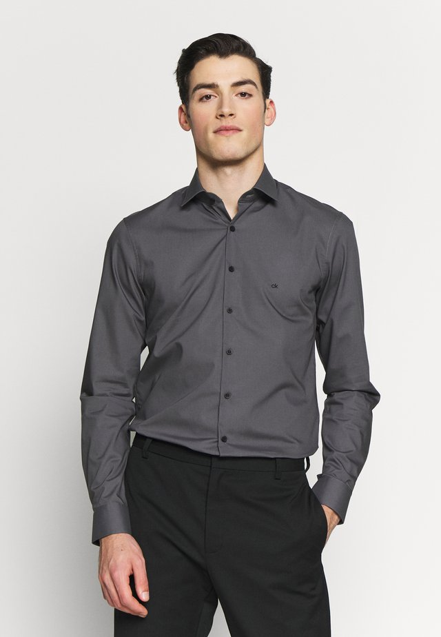 STRETCH SLIM - Formal shirt - grey