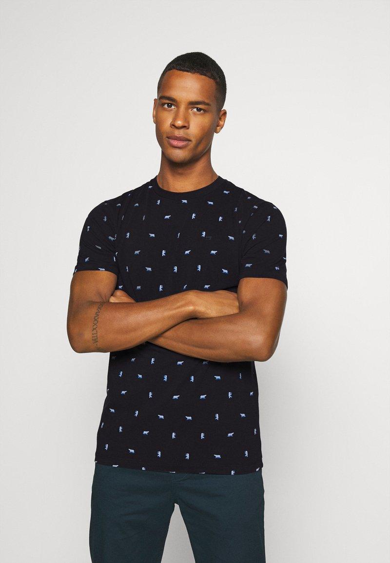Scotch & Soda - Print T-shirt - dark blue