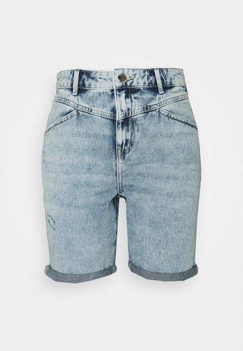 ONLFUTURE LIFE - Denim shorts - light blue denim